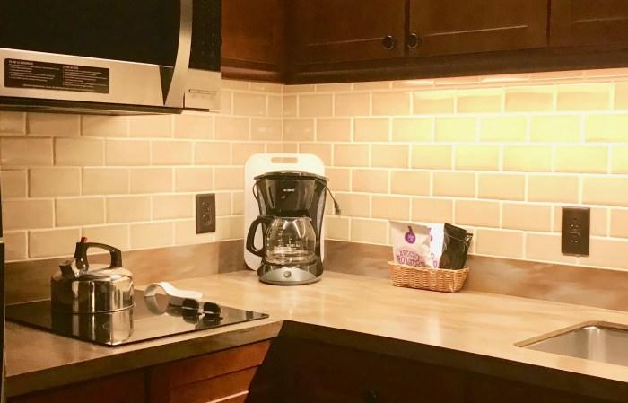 Coffee pot in Disney's villas
