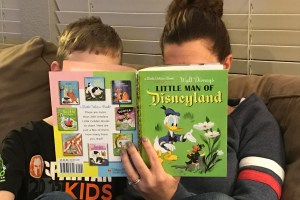 Reading Little Man of Disneyland