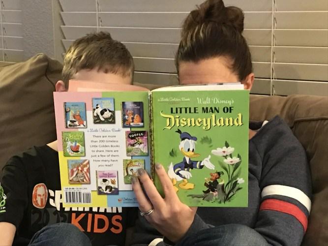 Reading Little Man of Disneyland