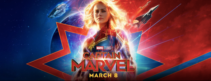 Captain Marvel in Theaters March 8