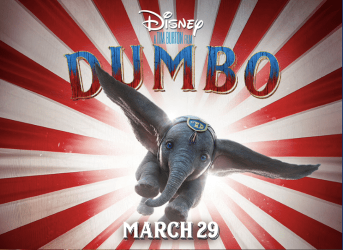 Dumbo In Theaters March 29