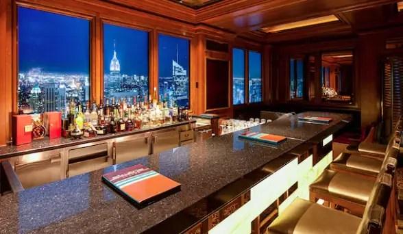 Skyline Bar on the Disney Dream