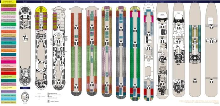 DCL Dream & Fantasy Deck Plans