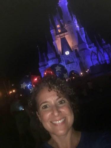 Cinderella Castle Selfie