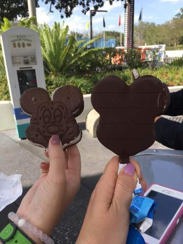 Mickey Ice Cream Bars