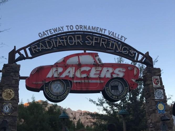 Radiator Springs Racers DCA