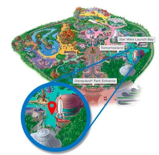 Disneyland Visa character spot