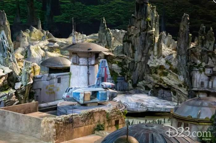 Batuu in Star Wars land