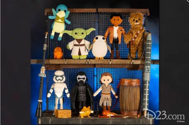 Star war land plush dolls