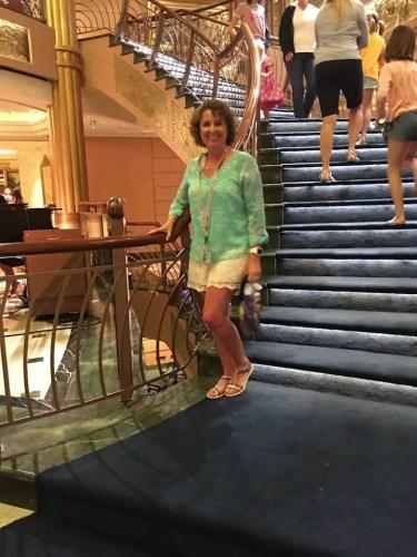 Cruise Casual in the Atrium