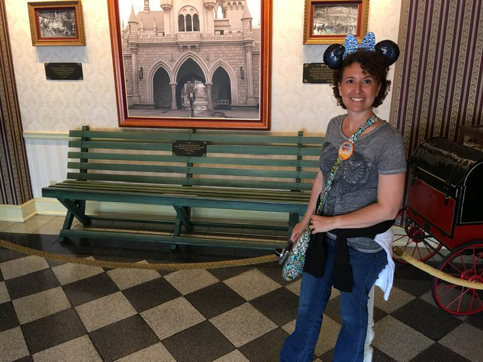 Disneyland History: What's So Special About a Park Bench