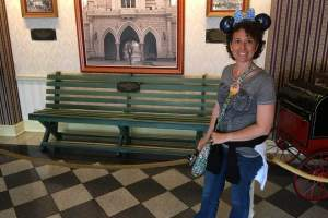 Griffith Park Bench Disneyland history