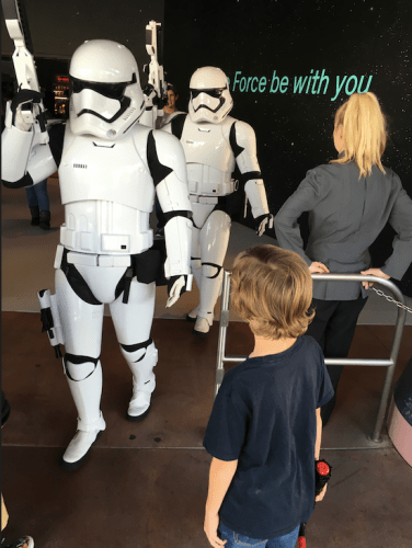 Storm Troopers in DIsneyland