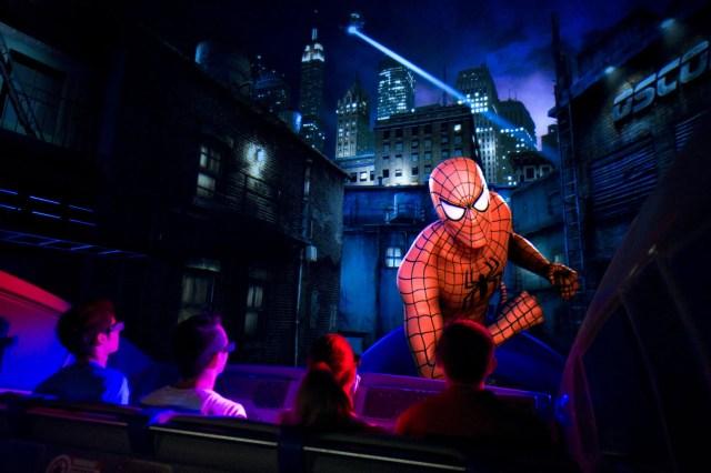 Spider Man Ride