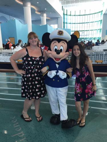 Disney Cruise Line Check-In & Arrival at Port Canaveral 2
