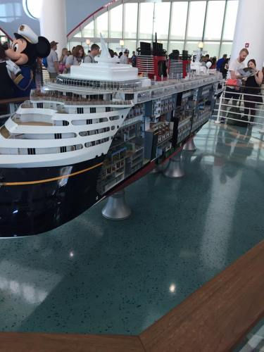 Disney Cruise Line Check-In & Arrival at Port Canaveral 4