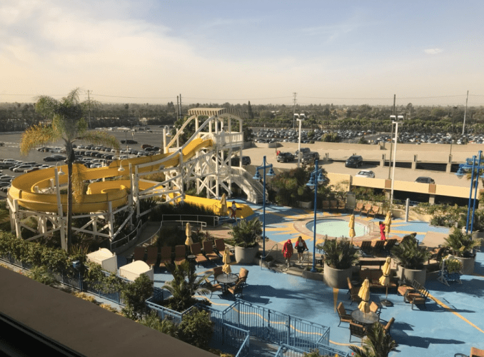 Pool at Paradise Pier Hotel
