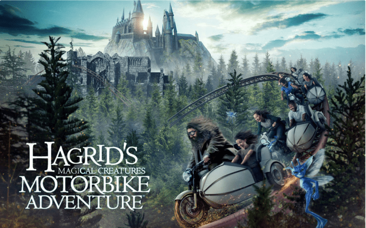 Muggle's Guide to Hagrid's Magical Creatures Motorbike Adventure