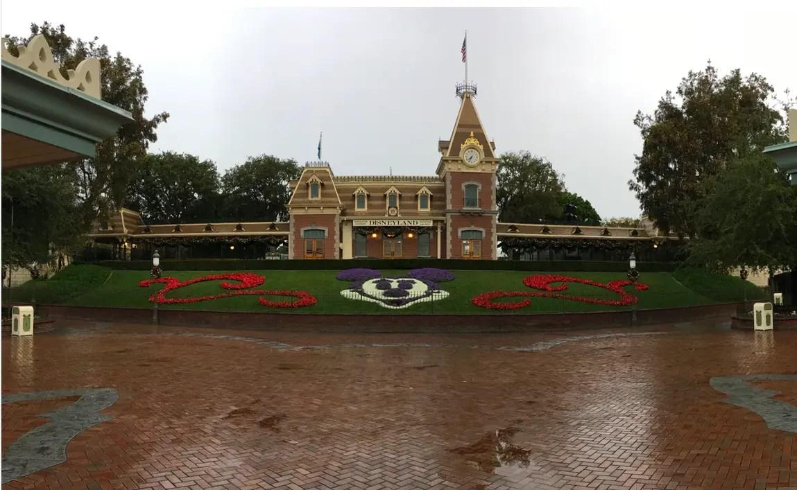 Rainy Day in Disneyland