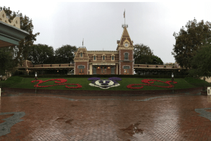 Rainy Day in Disneyland