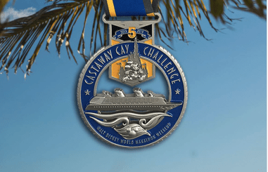 Castaway Cay Challenge Medal