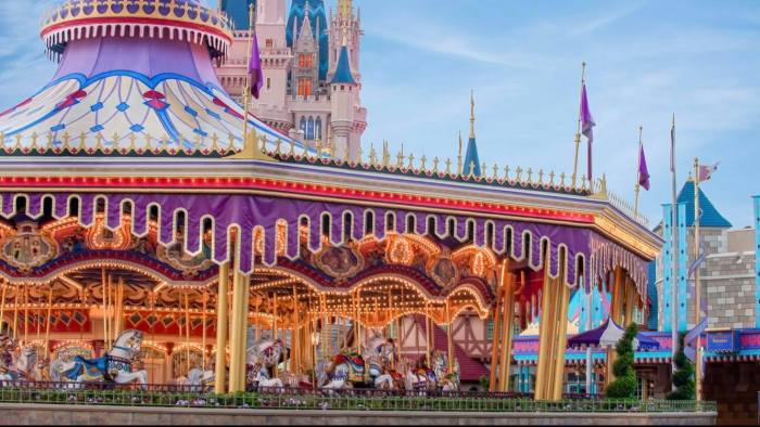 Cinderella's Golden Carrousel to Prince Charming Regal Carrousel: Backstory