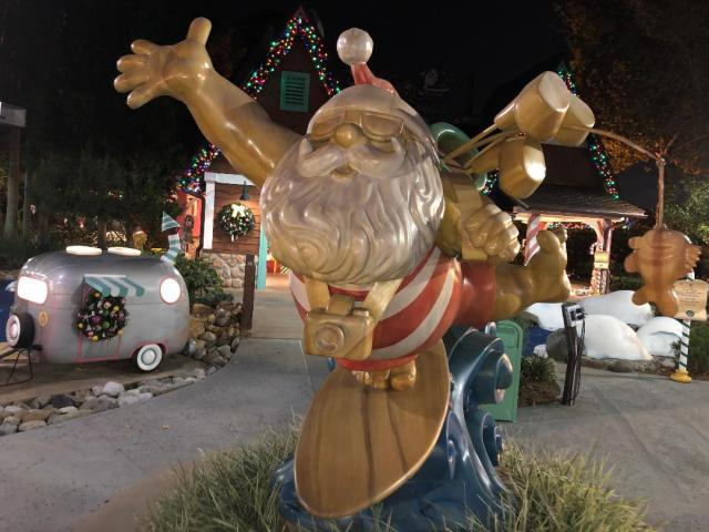 Winter Summerland: A Christmas Themed Mini Golf Course at Disney World 1