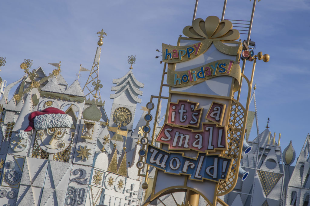 "Disneyland's ""it's a small world"" Holiday Fun Facts"