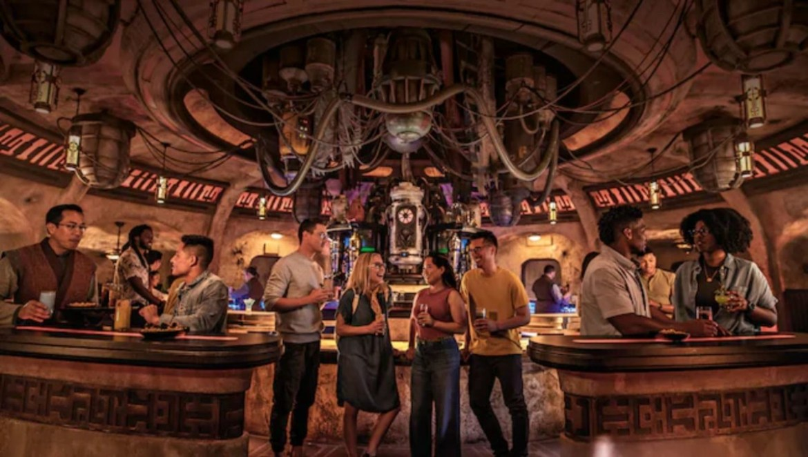 Best Drinks Found Morning, Noon and Night at Oga's Cantina