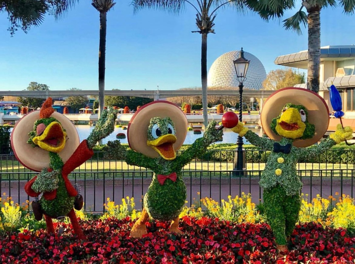 Top 4 Reasons To Go See Epcot's International Flower and Garden Festival