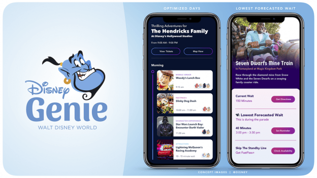 New Disney Genie App Coming Later This Year 6