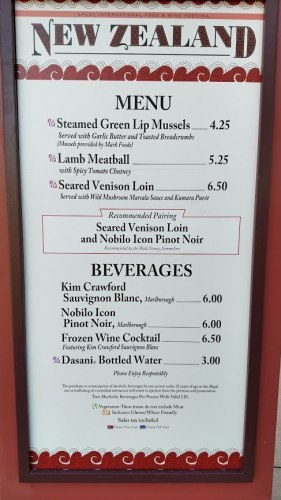 Can Disney Dining Plan Credits be Used at Epcot Festivals? 7