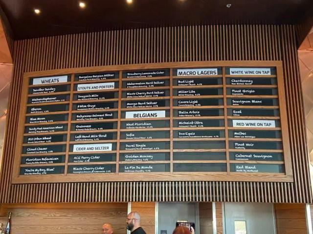 Top 5 Places to Grab a Beer at Disney Springs 3