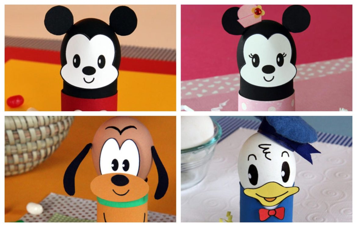 DIY Disney Easter Eggs