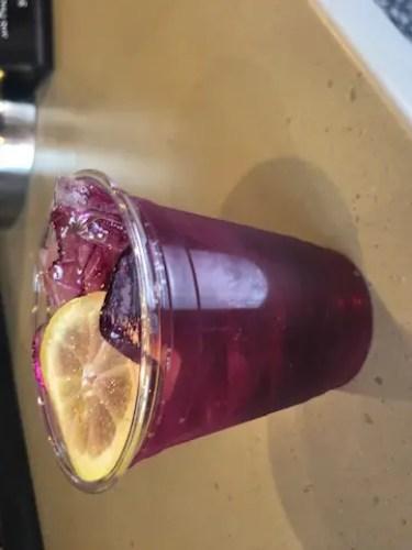Violet sake