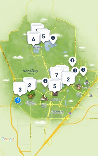 mobile dine map