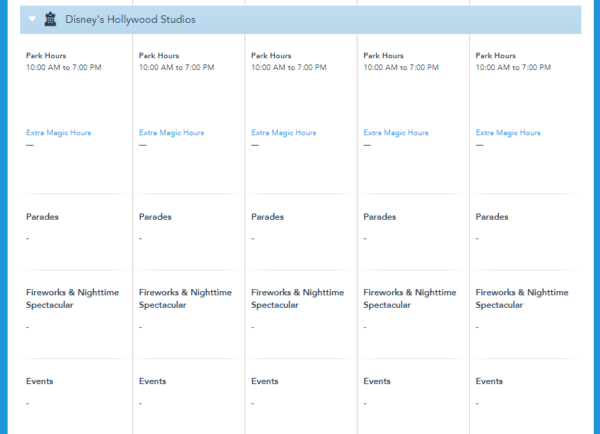 More Walt Disney World Park Hours For Fall Have Been Released 3