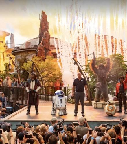 1st Year Anniversary Of Star Wars: Galaxy's Edge At Hollywood Studios! 1