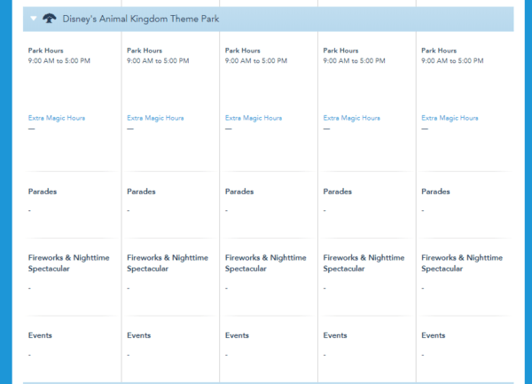More Walt Disney World Park Hours For Fall Have Been Released 4