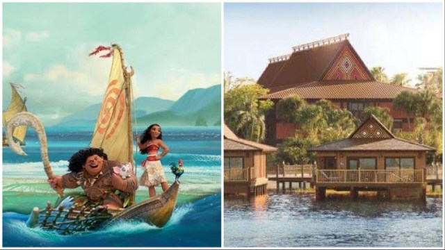 Disney's Polynesian Resort retheme Moana