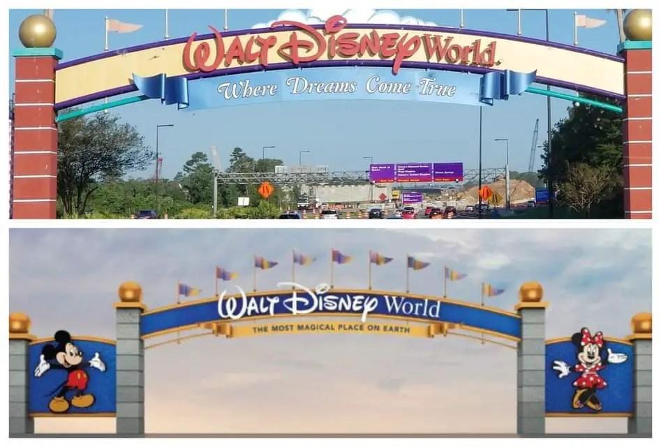 Disney Changing Slogan For Walt Disney World Main Gate
