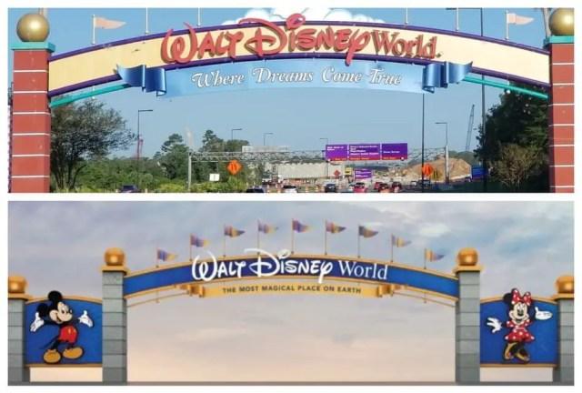 walt disney world main gate