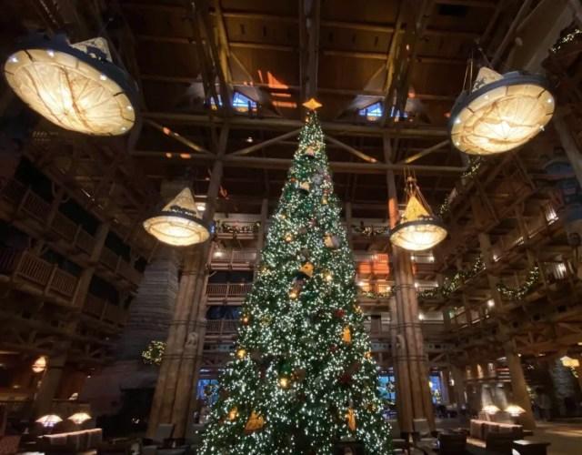 Holiday decorations disney world
