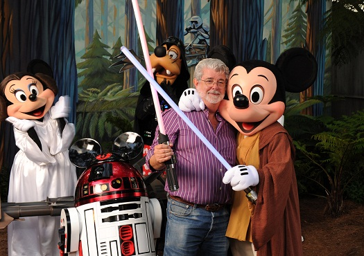 Will George Lucas have more input in the upcoming Star Wars Trilogy