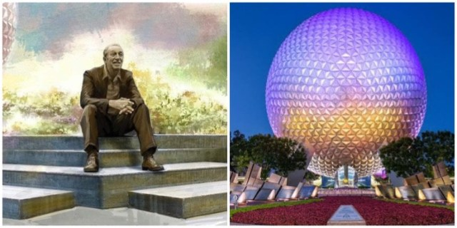 Walt Disney statue Epcot