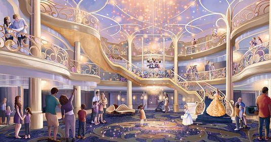Disney Cruise Line Released Video of the Disney Wish 3