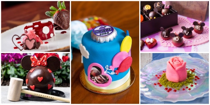 Valentine's Day Foodie Guide 2021 For Disney Parks Around The World!