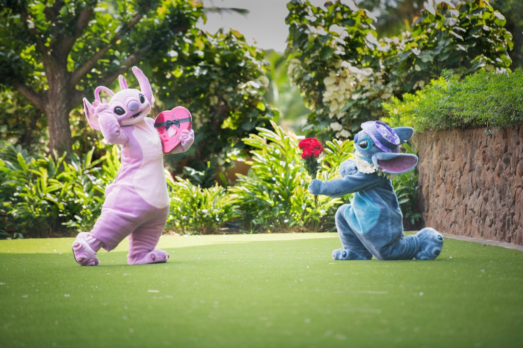Celebrate Valentine's Day With Stitch & Angel!