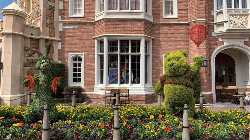 Disney Is Already Decorating Epcot For The Flower & Garden Festival!