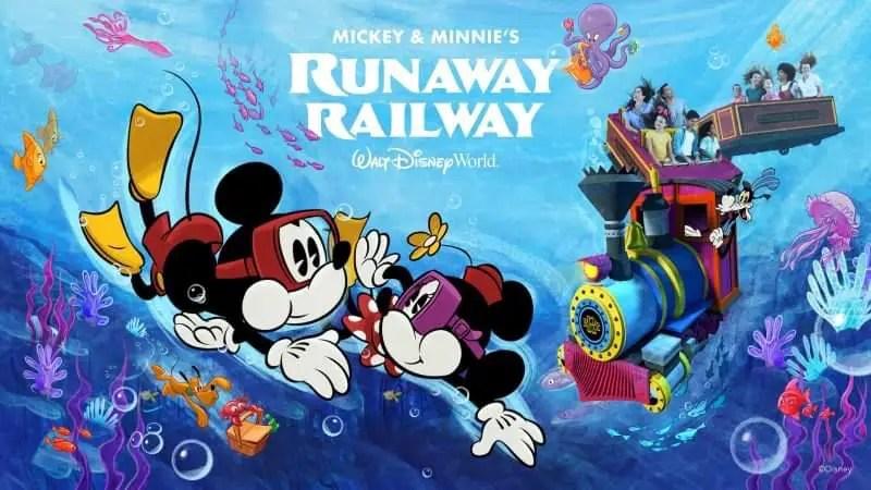 Win a trip to Walt Disney World with Mickey & Minnie's Runaway Railway Sweepstakes